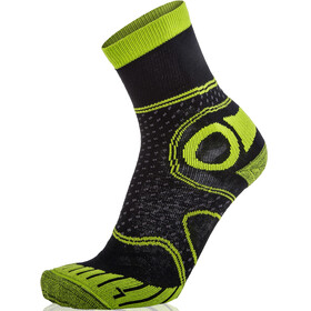 Eightsox Trekking Merino Socks Unisex black/green